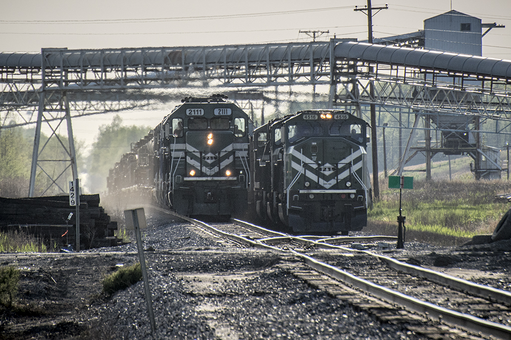 04.22.15 PAL 2111 Military Train at Hopkins County Coal, Madisonville, Ky